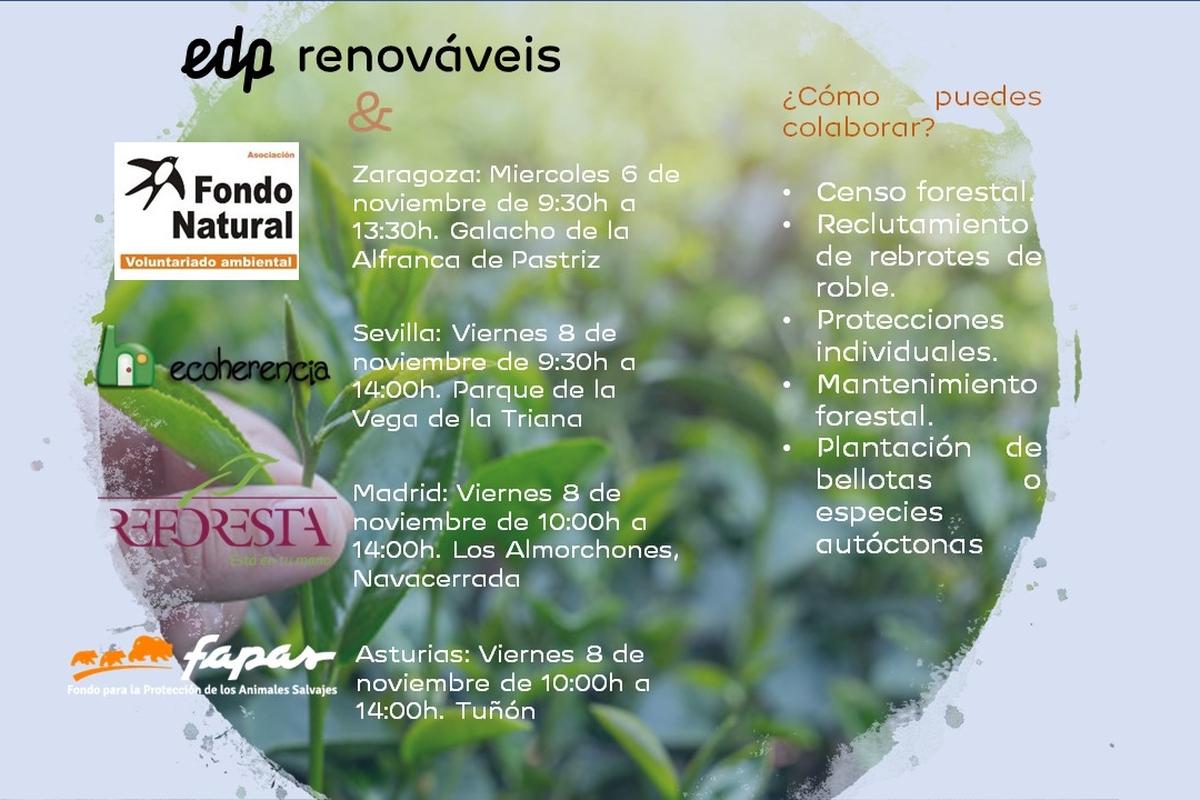 Voluntariado Medioambiental EDPR