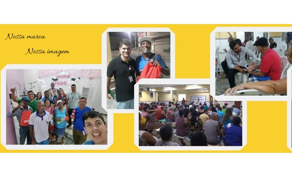 Equipe EDP Love Customers - EDP LC na Escola Renovação