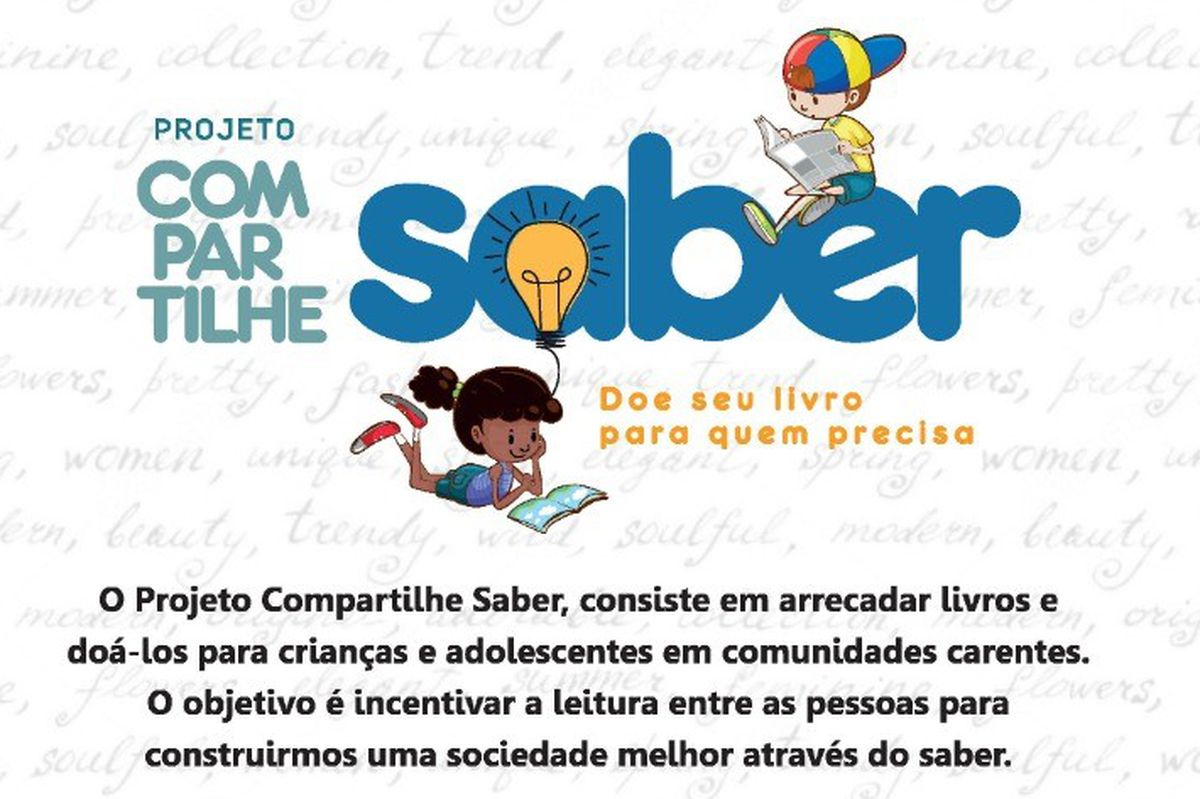 PROJETO COMPARTILHE SABER