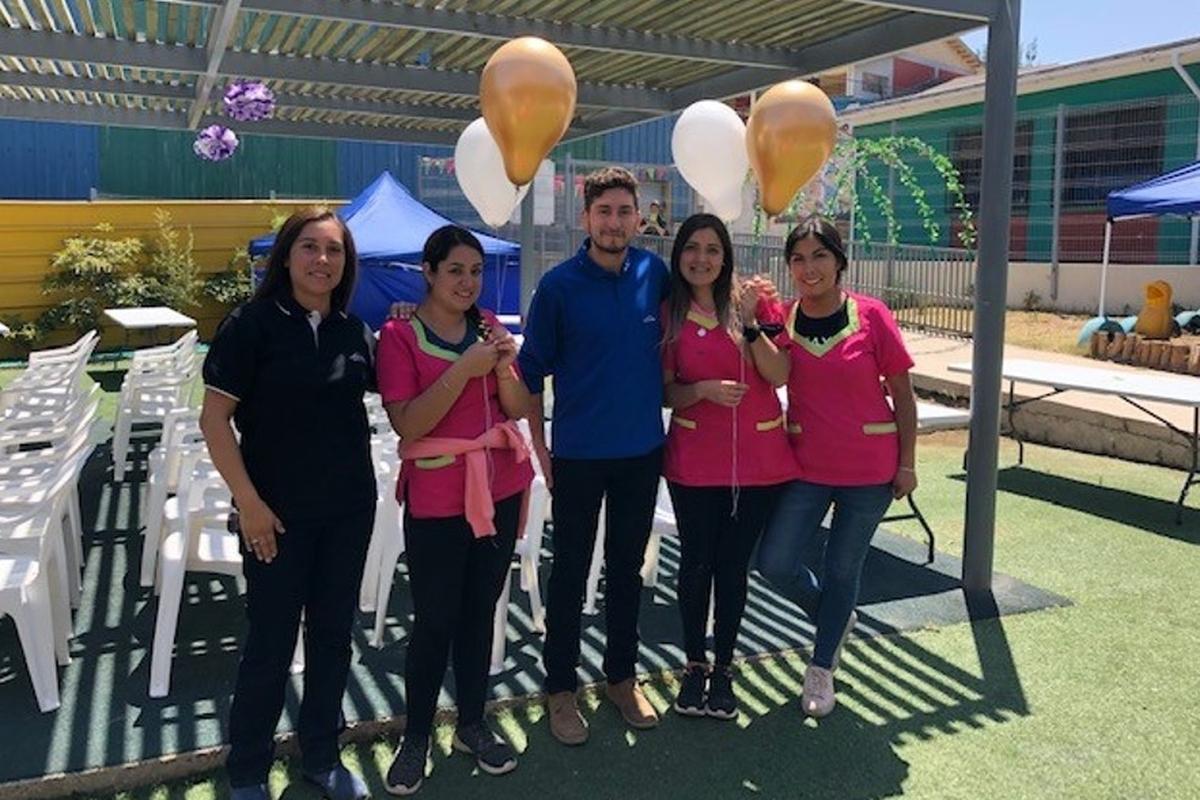 Donación Globos con Helio Jardin Mauquitos