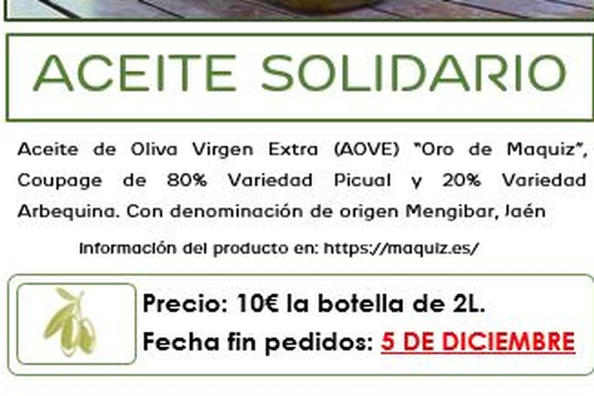 Voluntarios por Centro - Aceite Solidario 2019