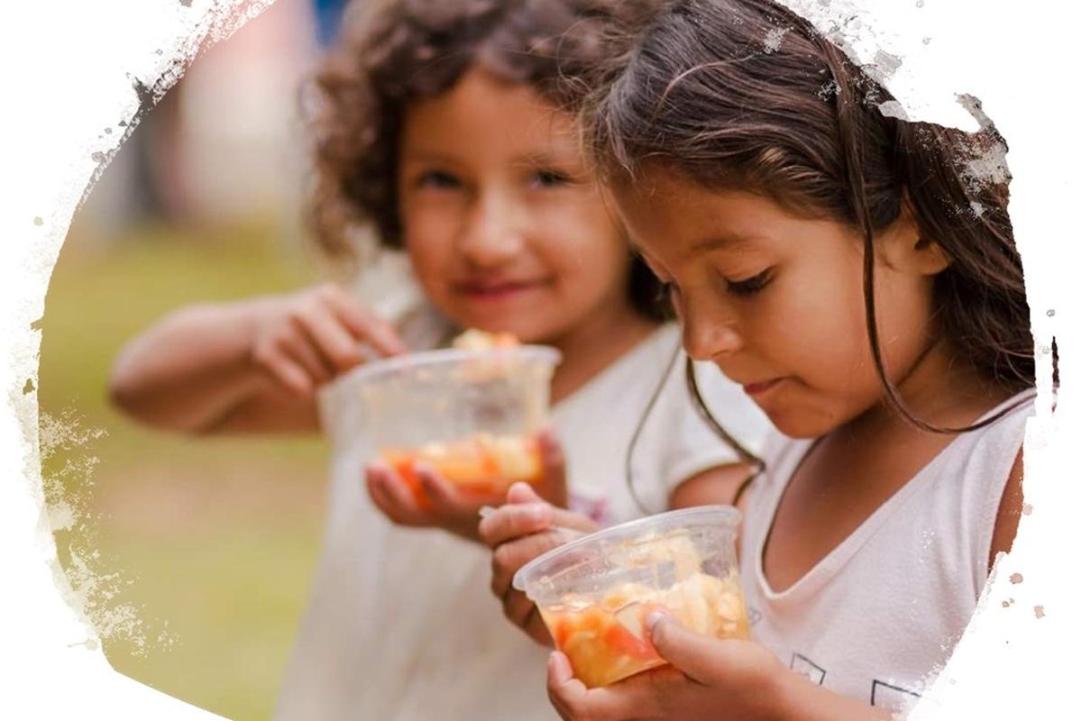 Entrega de Alimentos ao Instituto dos Cegos do Brasil