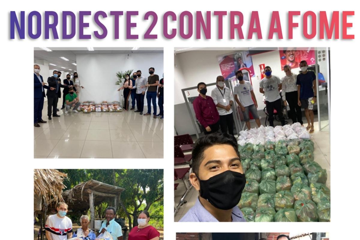 NORDESTE 2 CONTRA A FOME - 2021