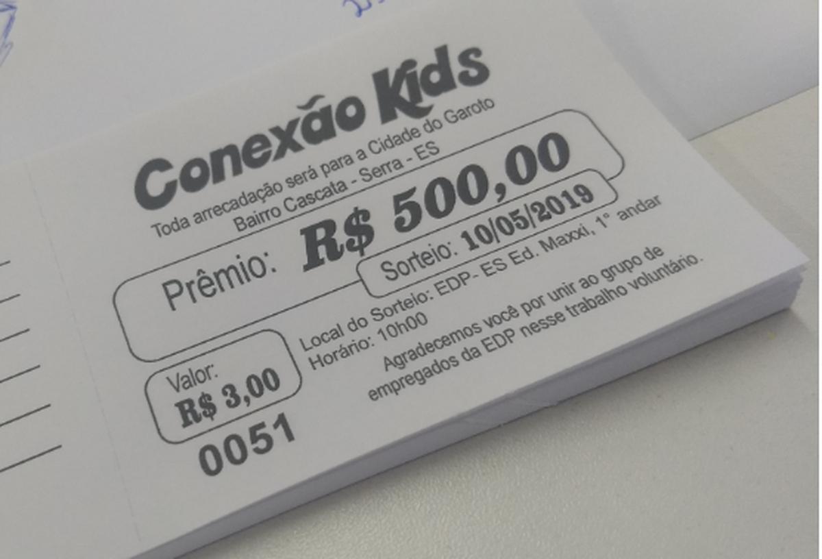 Conexão Kids - Compre sua Rifa!!!
