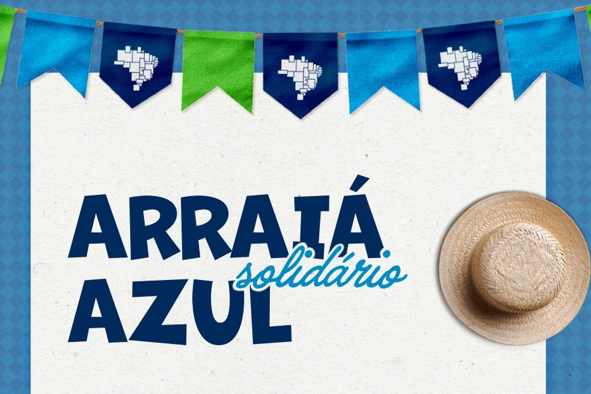 ARRAIÁ SOLIDÁRIO - Campanha do Agasalho Azul 2021