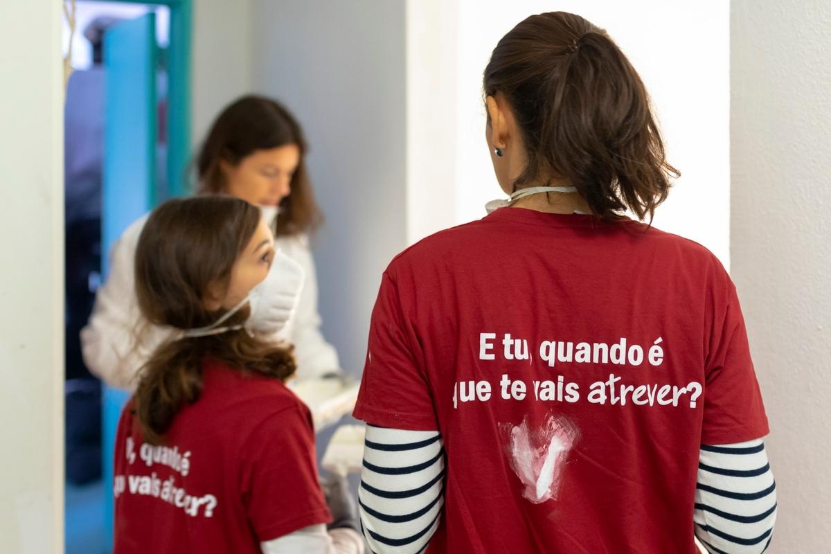 Voluntariado de Reabilitação - Porto, 16.10.2020