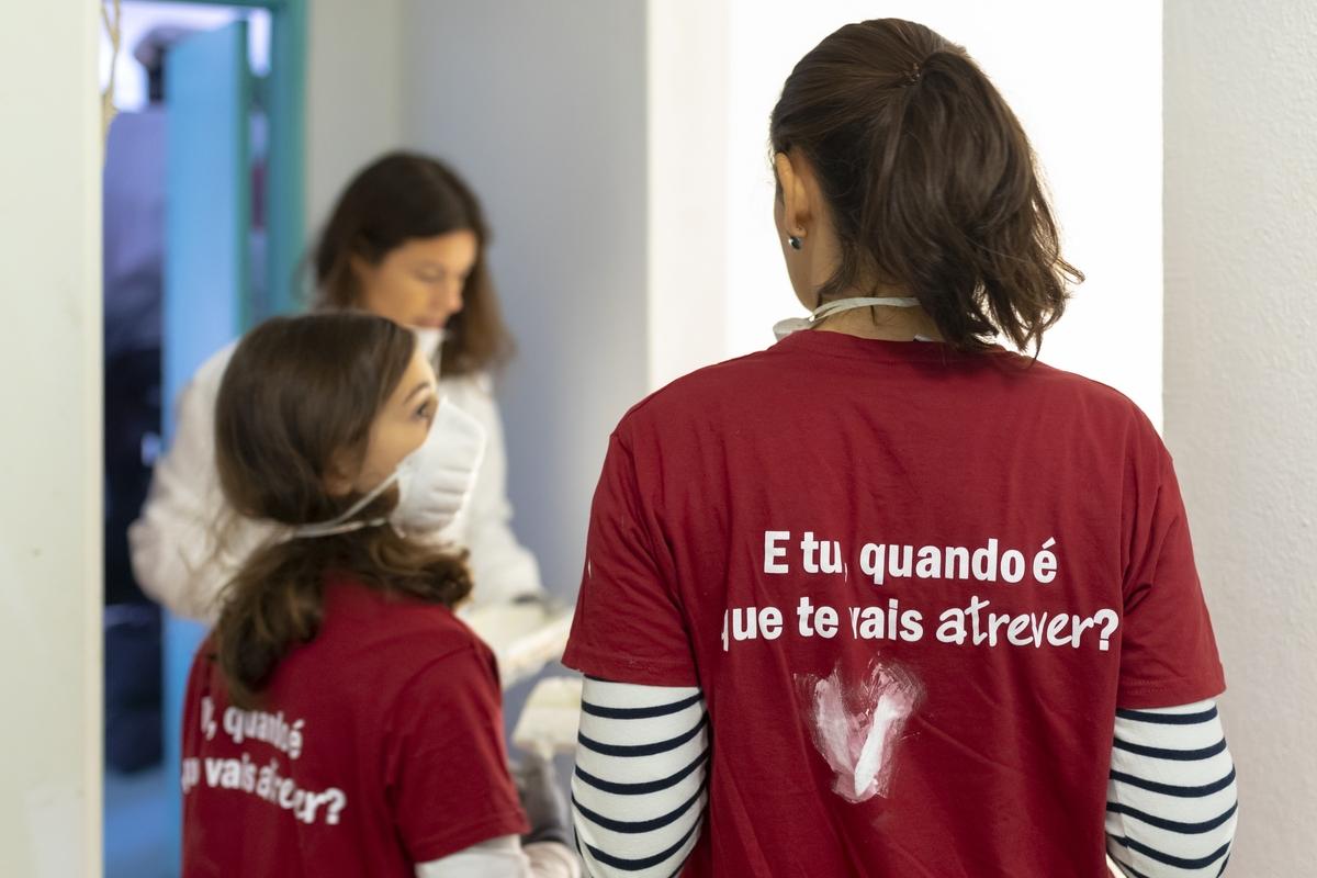 Voluntariado de Reabilitação - Lisboa, 23.04.2021_Manhã