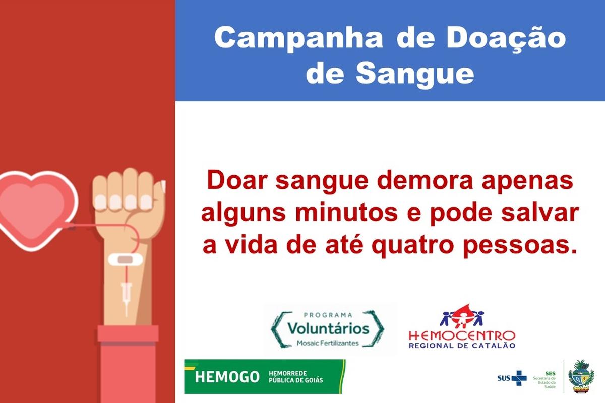 Campanha de Doação de Sangue - Catalão