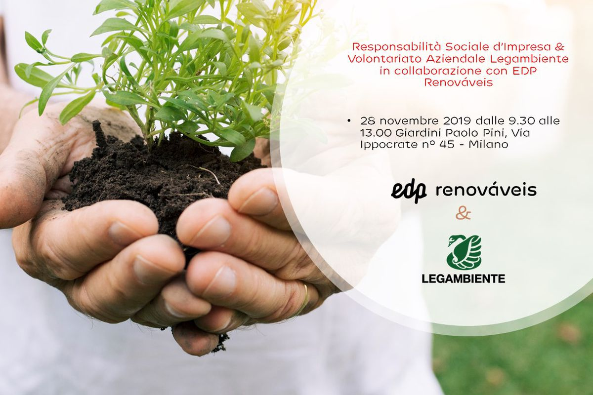 Volontariato Aziendale Legambiente & EDP Renováveis