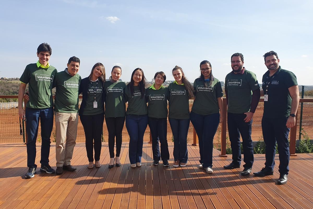 Criação do Grupo Local de Voluntariado em Uberaba - CSC