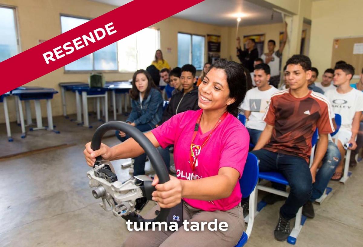 Palestra sobre educação no trânsito (TARDE)