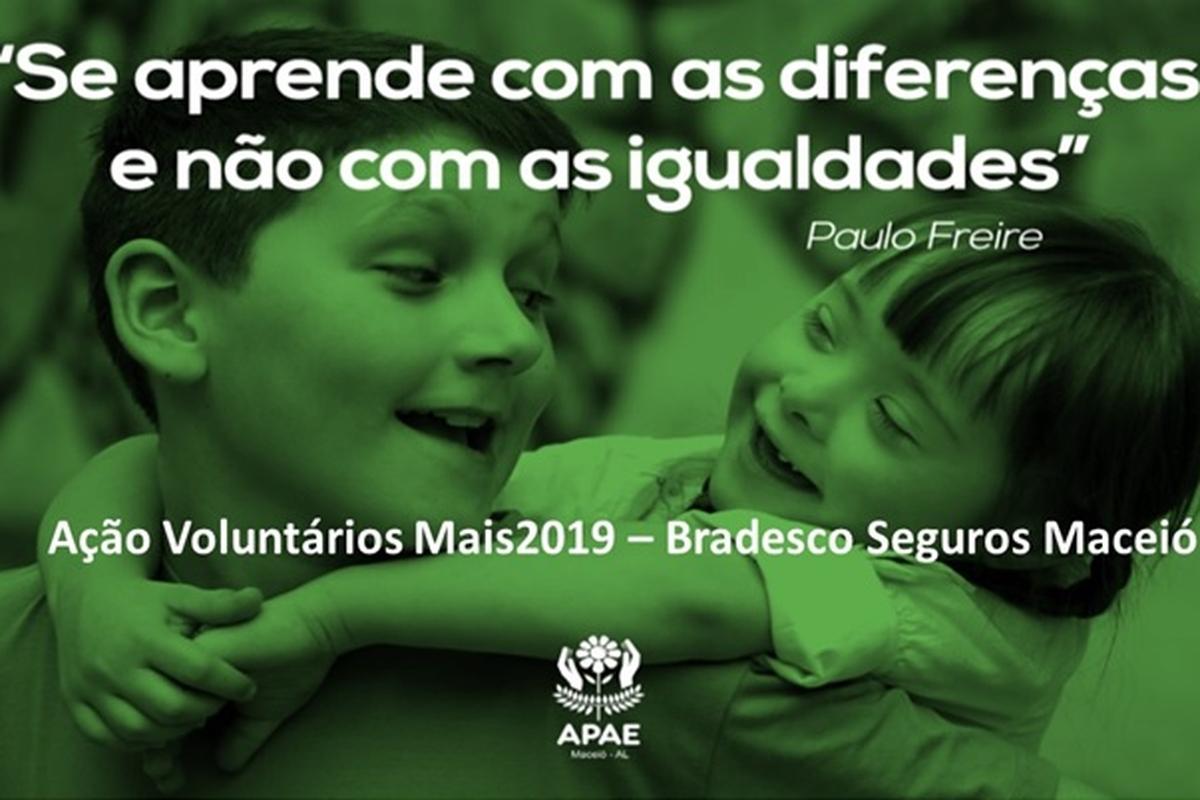 VOLUNTÁRIOS MAIS 2019 - BRADESCO SEGUROS