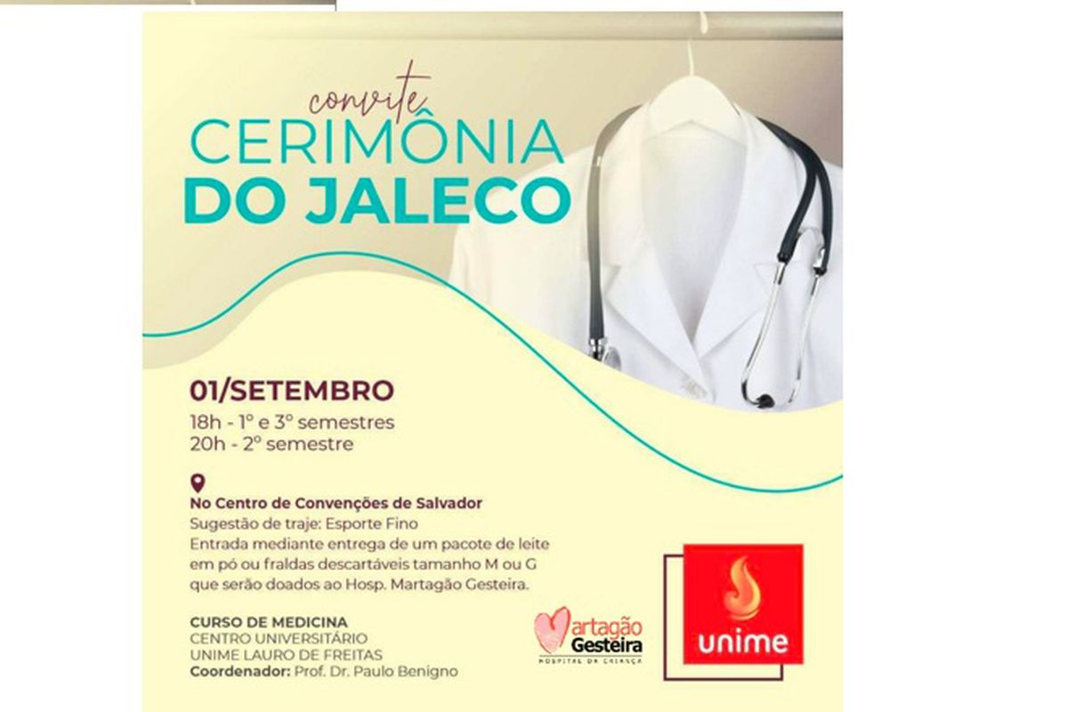 Cerimônia do Jaleco - Hospital Martagão