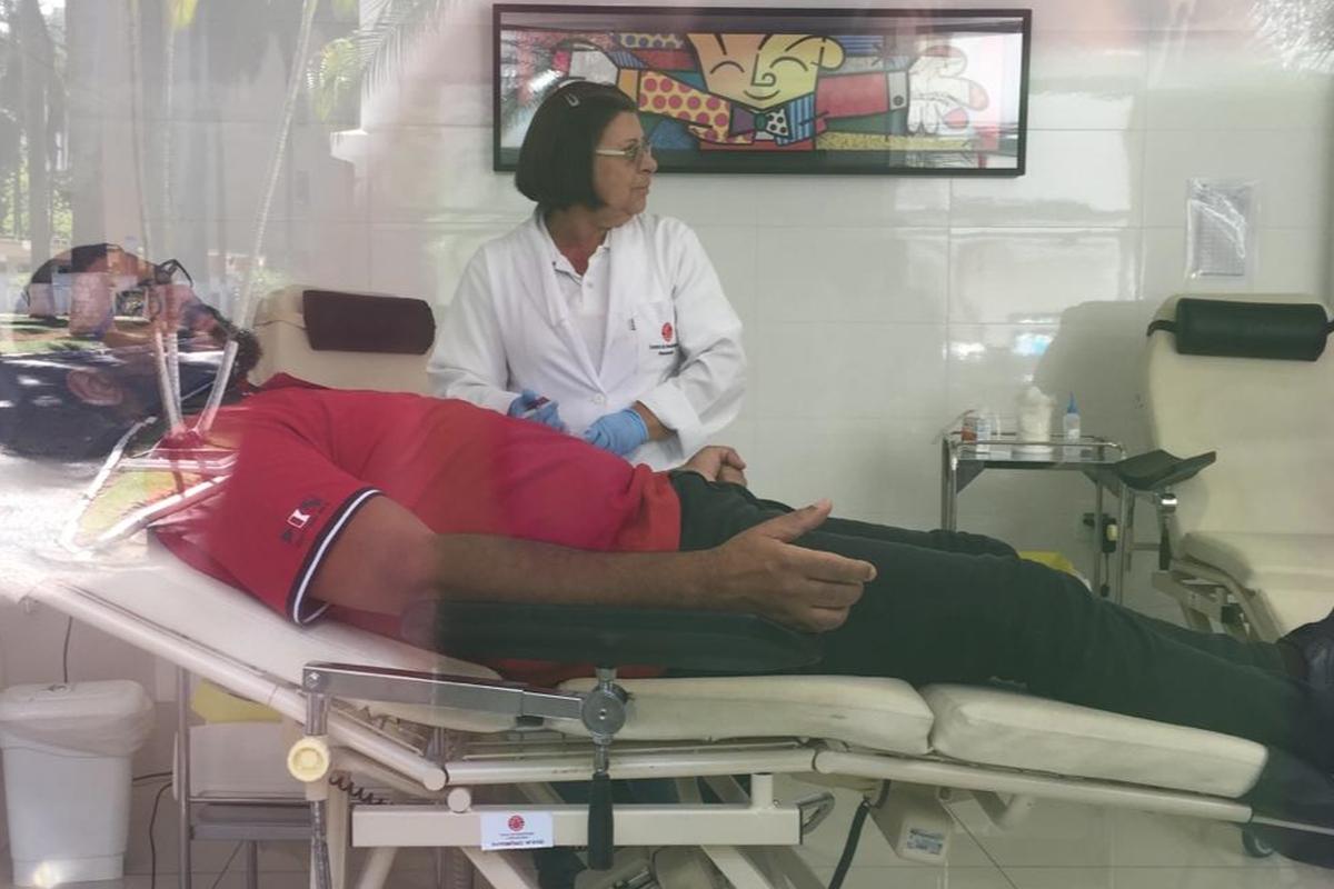 Doação voluntária de sangue - 2019