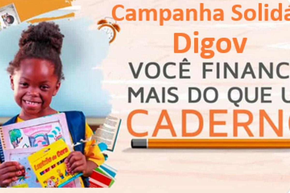 Campanha Voluntariado DIGOV - Material Escolar Vovo Luzimar