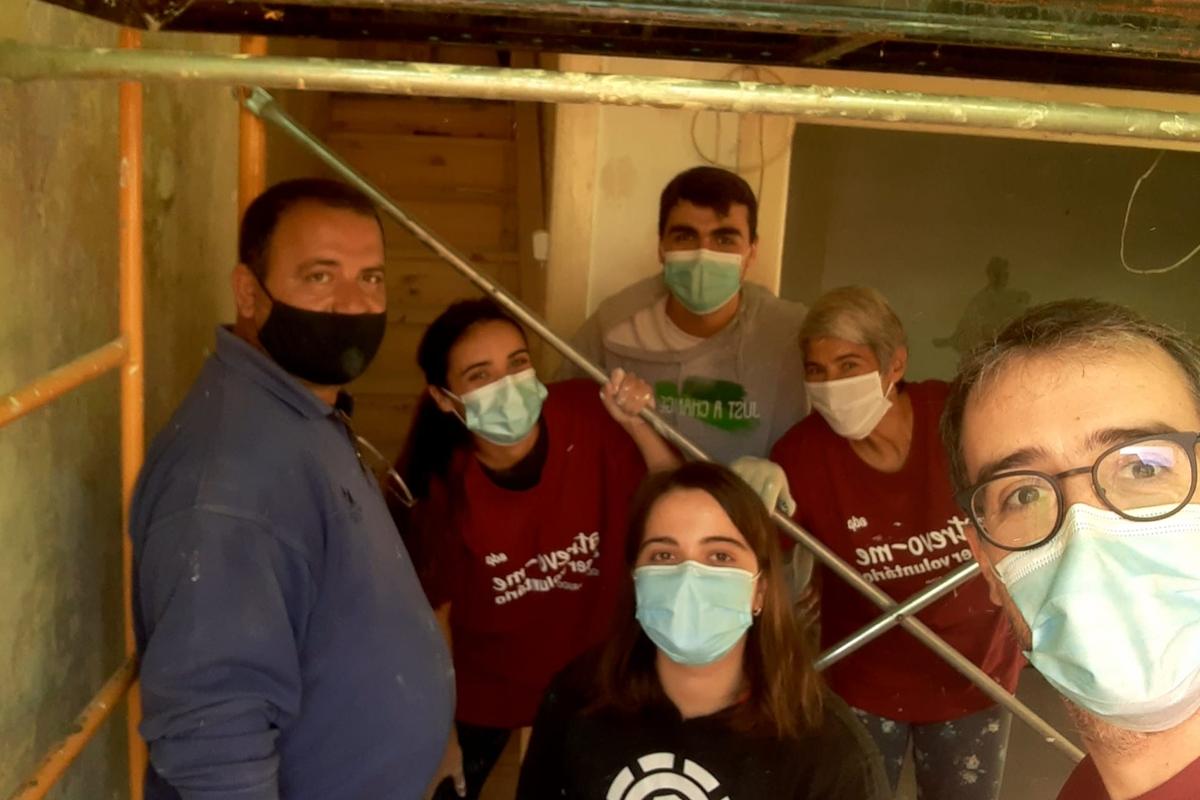 Voluntariado de Reabilitação - Porto, 23.10.2020