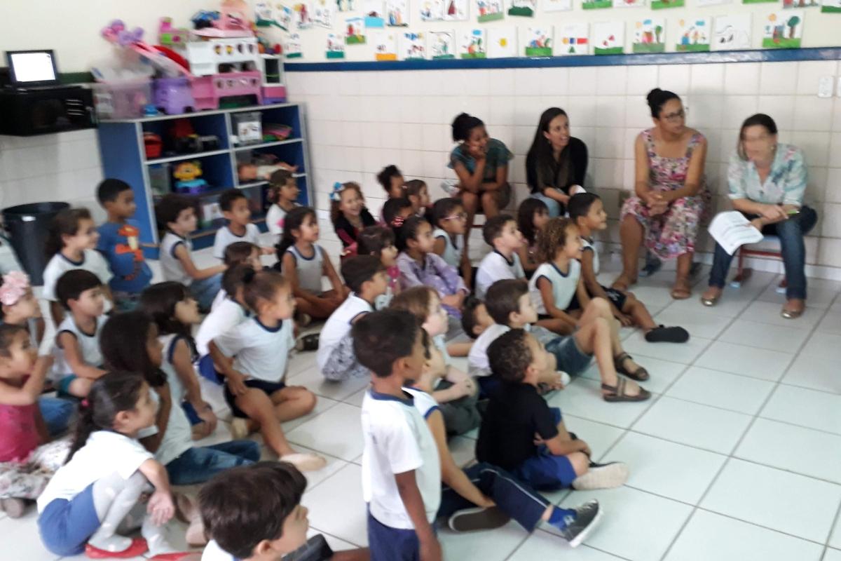 Conversando com os professores da CMEI Maringá