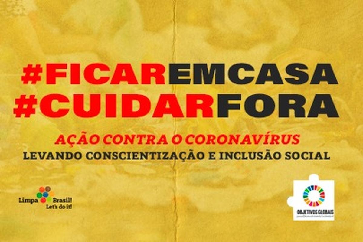 #FicarEmCasa + #CuidarFora