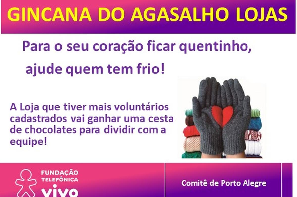 Campanha do Agasalho Lojas