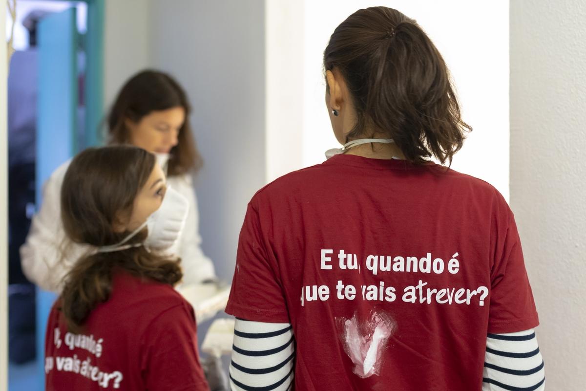 Voluntariado de Reabilitação - Lisboa, 13.11.2020_Manhã