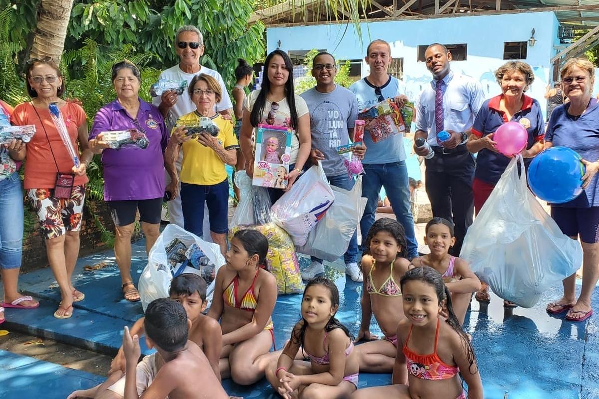 Ação Voluntária Dia das Crianças
