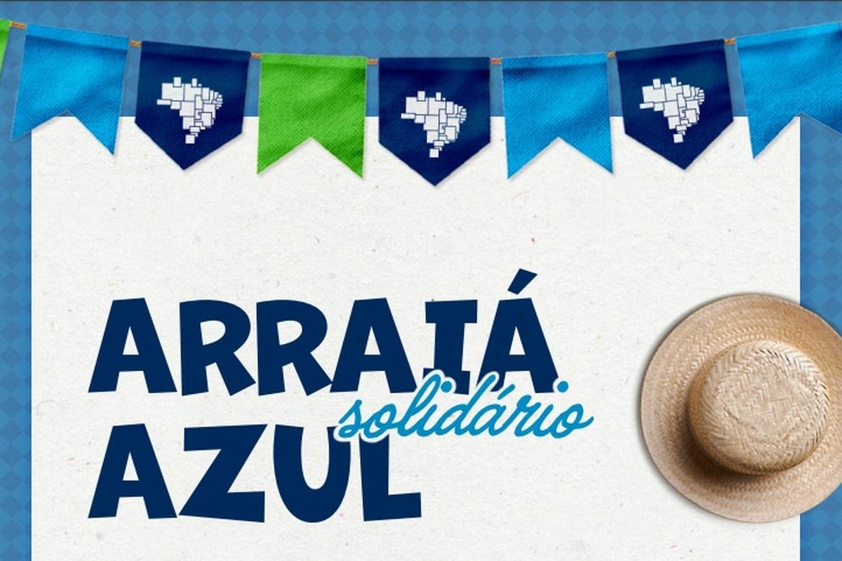 Arraiá Solidário - AZUL CKS