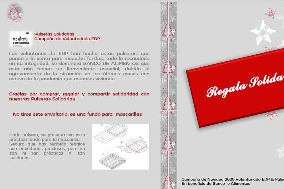 Regala Solidaridad en forma de pulsera (10€)