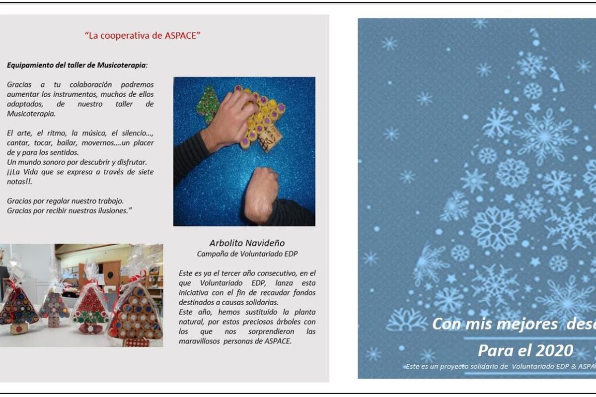 Felicita estas Fiestas con el Arbolito de Navidad de Aspace