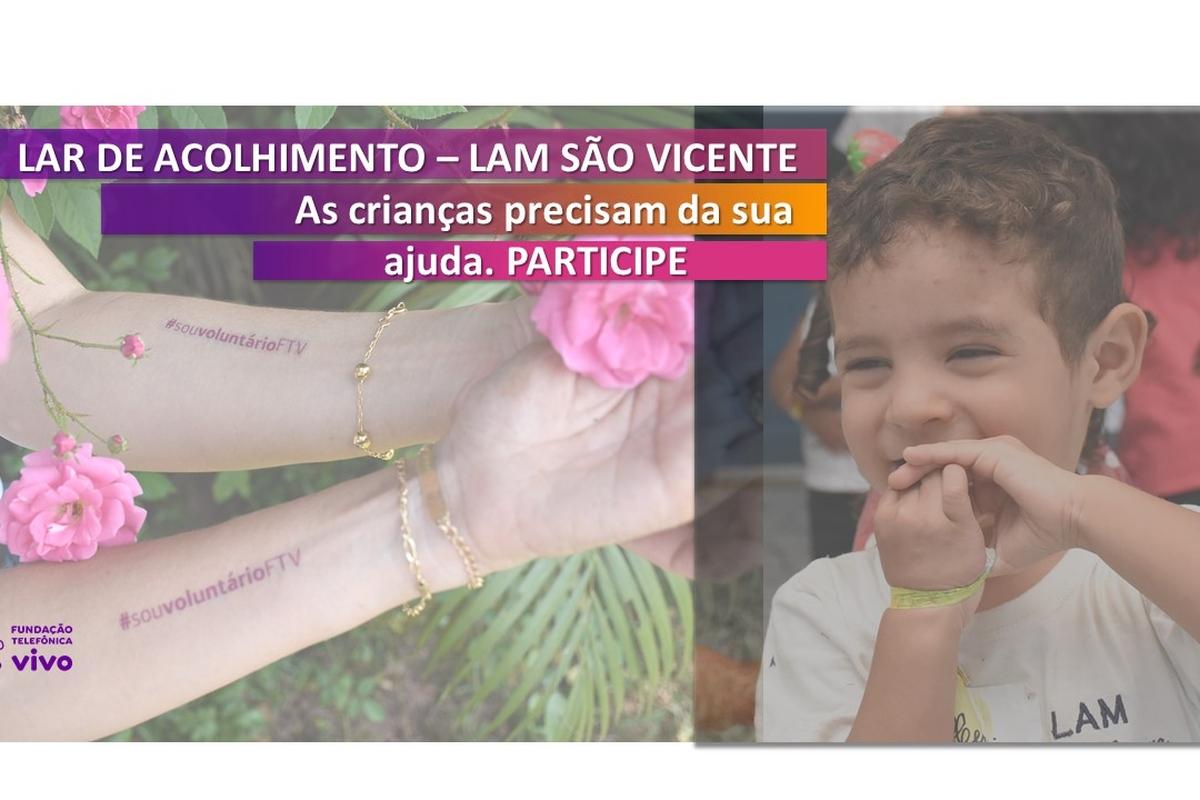 SP - Apoie o LAM São Vicente