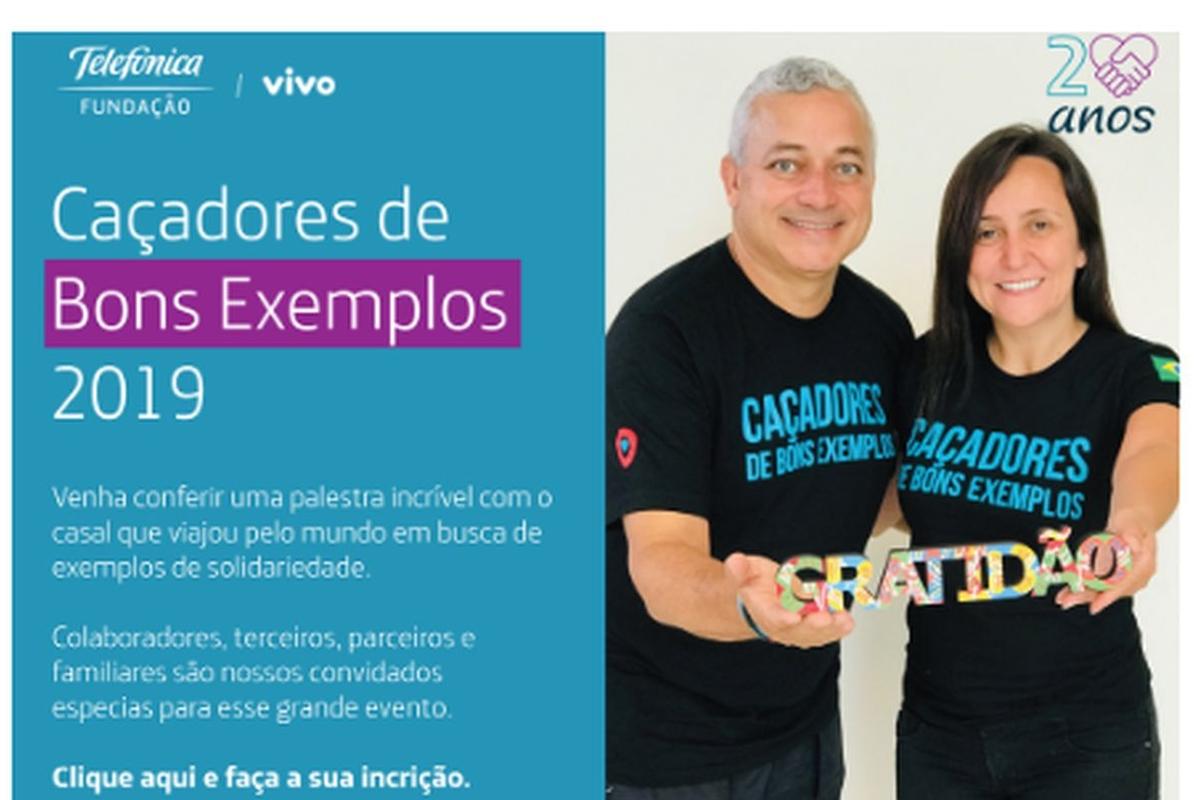 PALESTRA: CAÇADORES DE BONS EXEMPLOS - SANTOS/SP