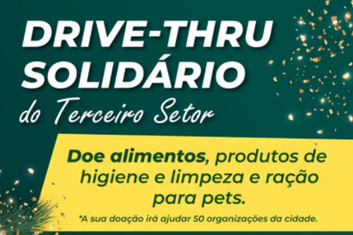 Drive-Thru Solidário do Terceiro Setor