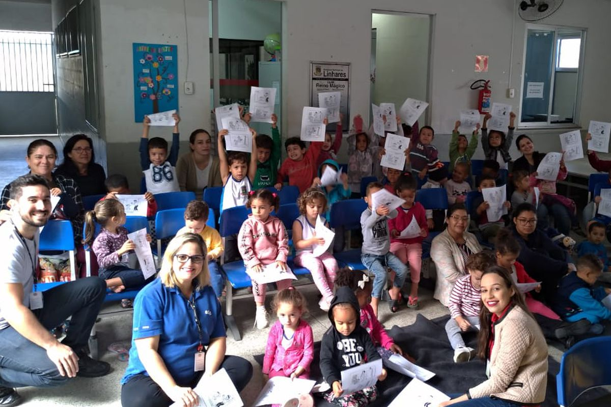 Equipe Energia Positiva e Escola de Nova Bethânia