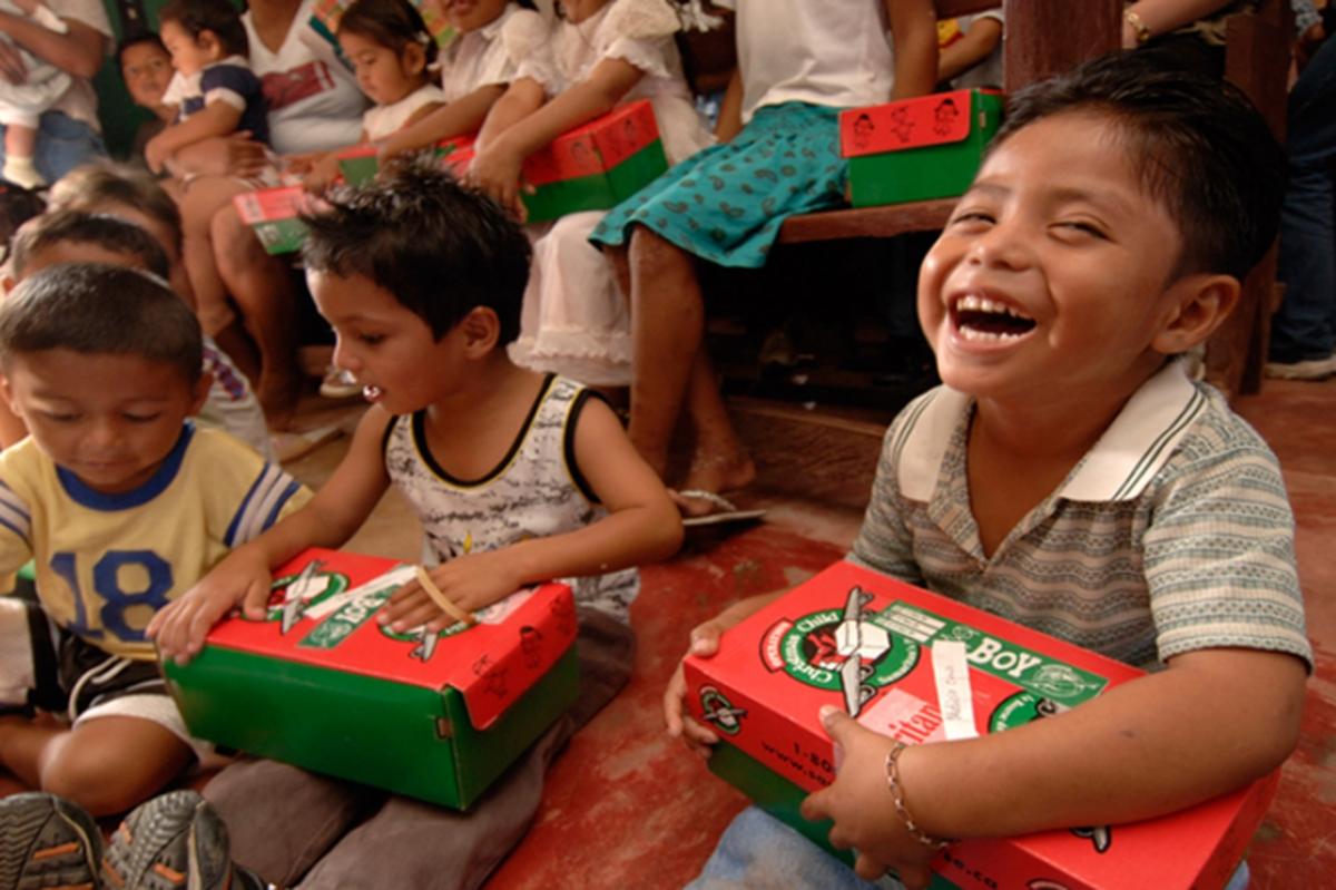 Natal das crianças da  Casa de Acolhimento de Viana