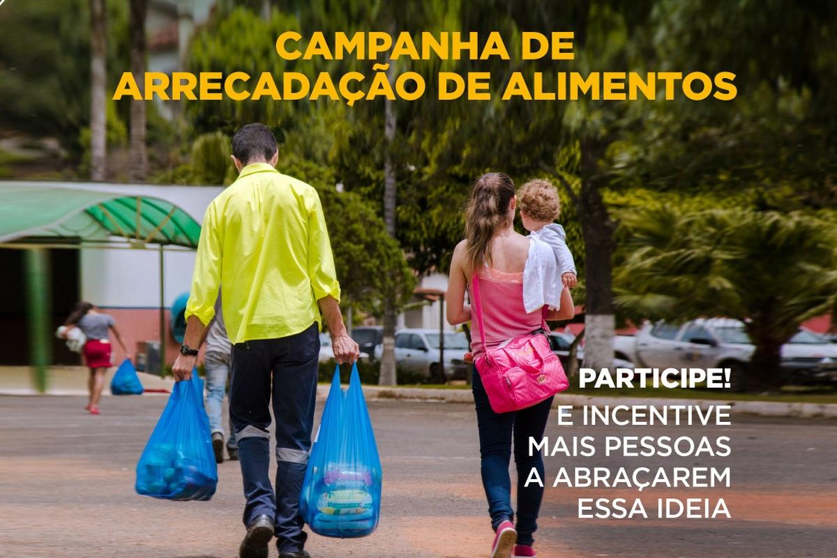 Campanha de Arrecadação de Alimentos - Cubatão