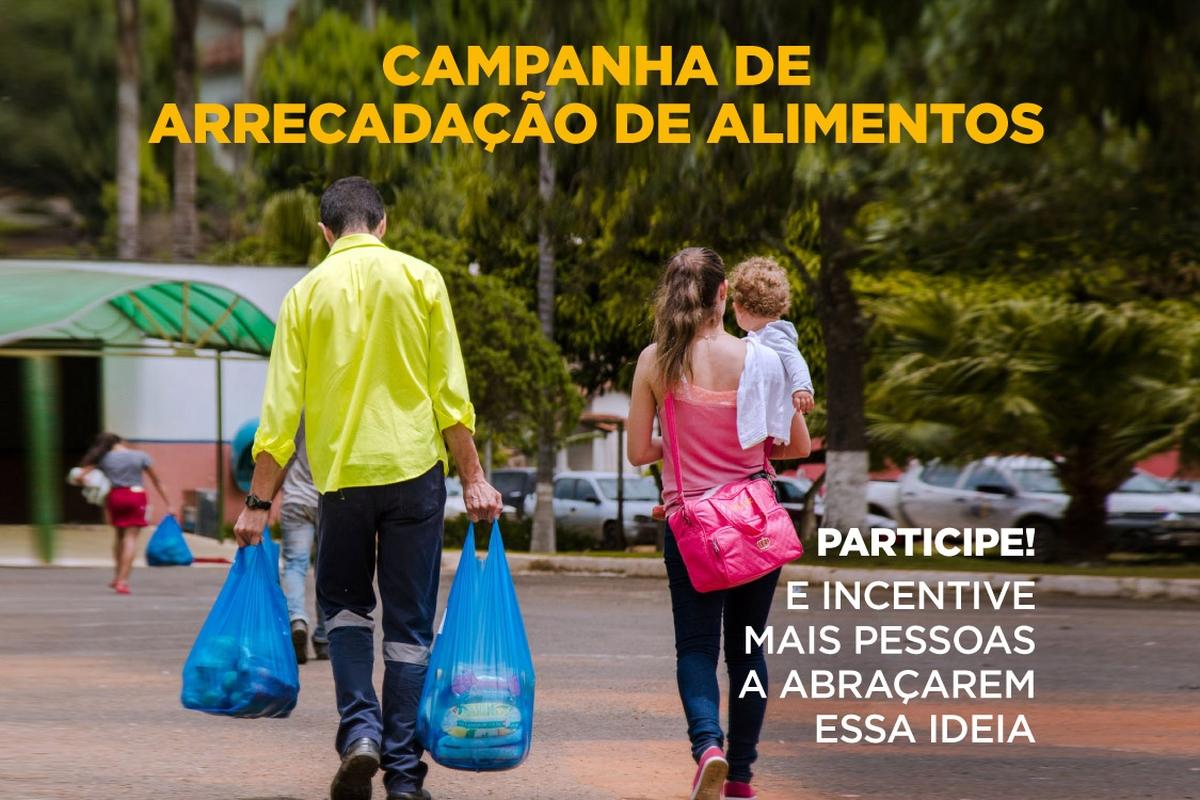 Campanha de Arrecadação de Alimentos -Esc. São Paulo