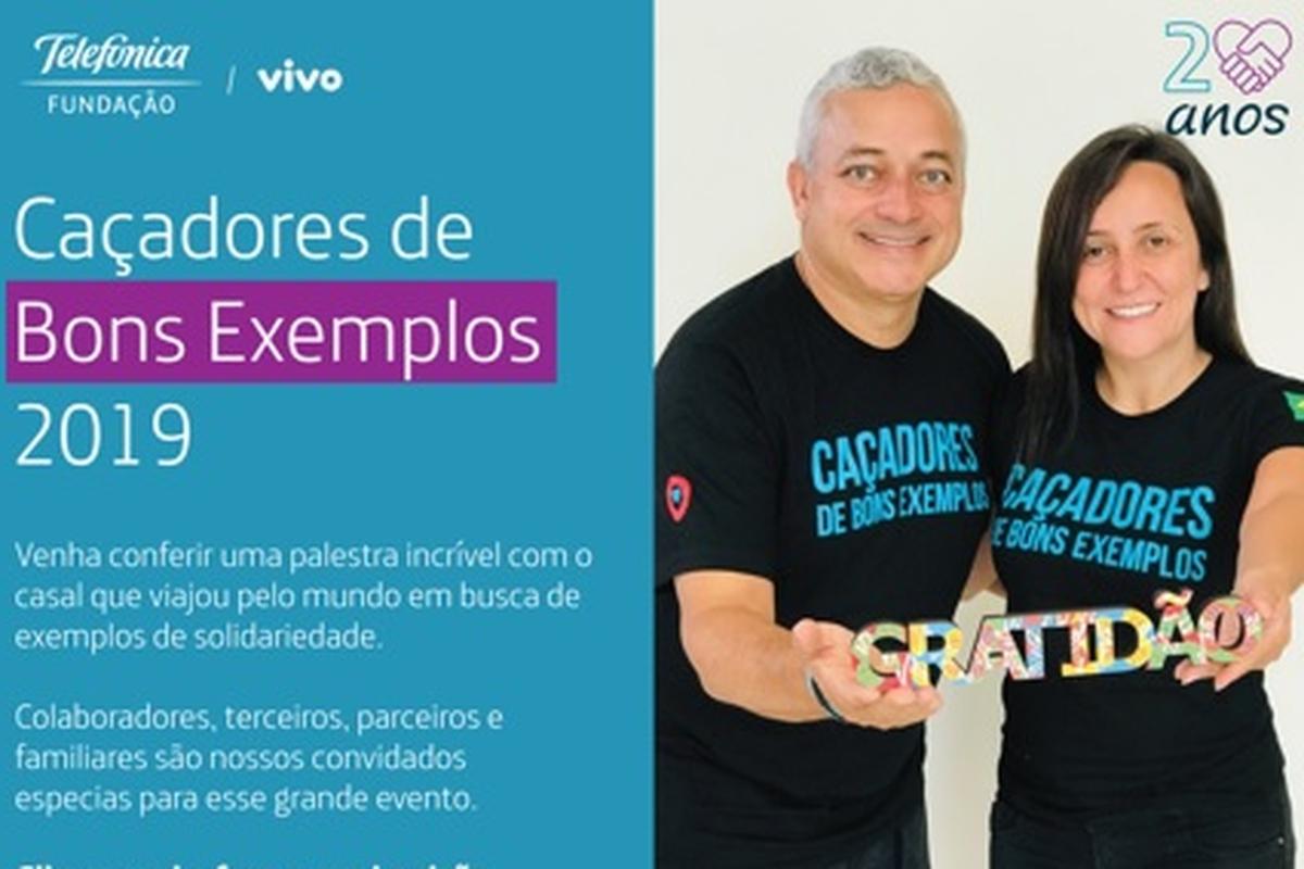 Palestra Caçadores de Bons Exemplos - Recife