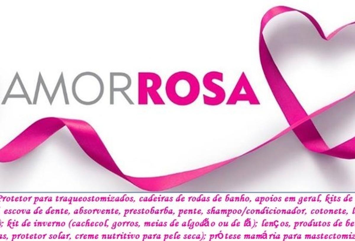 TAMPINHAS SOLIDÁRIAS - AMOR ROSA