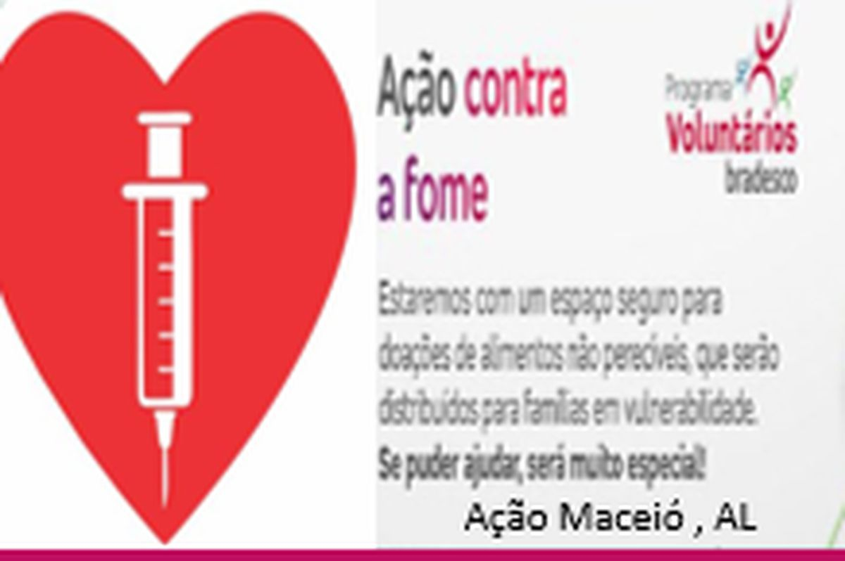 Vacina do Bem - Todos contra a Fome! Maceió - 2021