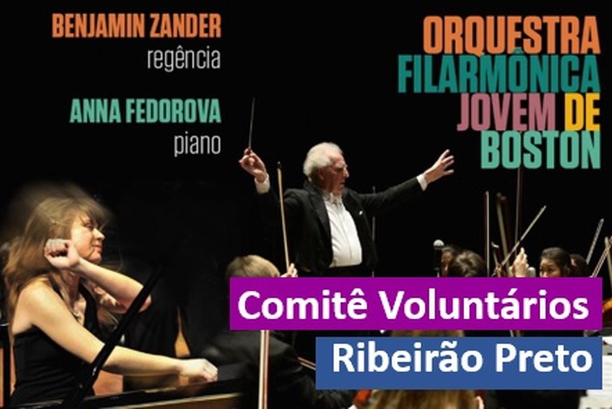 Concerto da Orquestra Filarmônica Jovem de Boston
